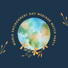 Watch Party: World Environment Day 2021 Webinar