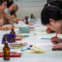 Puzzle Pieces of Life Art Workshop